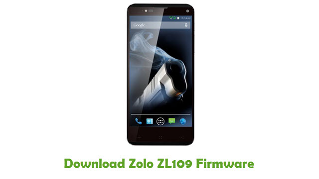 Download Zolo ZL109 Stock ROM