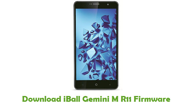 Download iBall Gemini M R11 Firmware