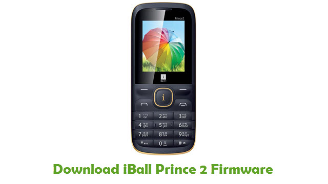 iBall Prince 2 Stock ROM