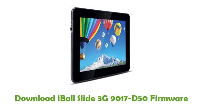 iBall Slide 3G 9017-D50 Stock ROM