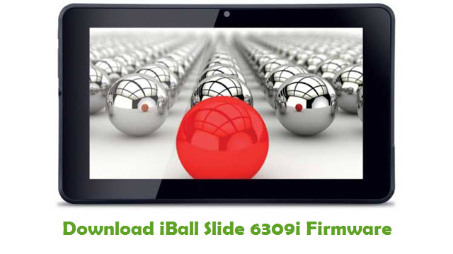 Download iBall Slide 6309i Firmware