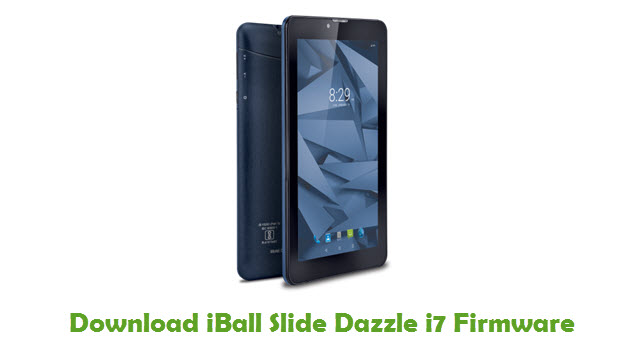 Download iBall Slide Dazzle i7 Stock ROM