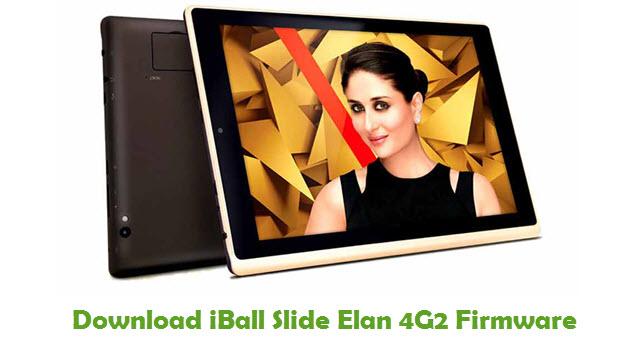 Download iBall Slide Elan 4G2 Stock ROM