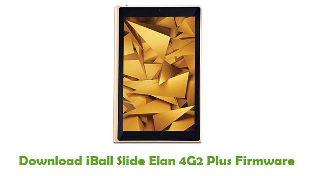 iBall Slide Elan 4G2 Plus Stock ROM