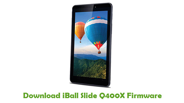Download iBall Slide Q400X Firmware