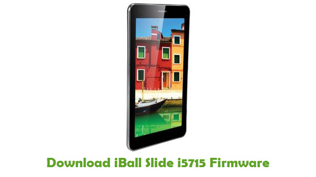 iBall Slide i5715 Stock ROM