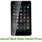 iBall Slide i6030 Firmware