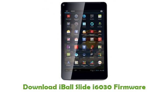iBall Slide i6030 Stock ROM