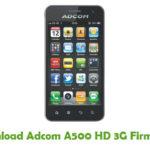 Adcom A500 HD 3G Firmware