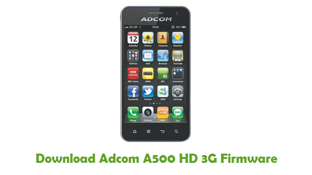 Adcom A500 HD 3G Stock ROM