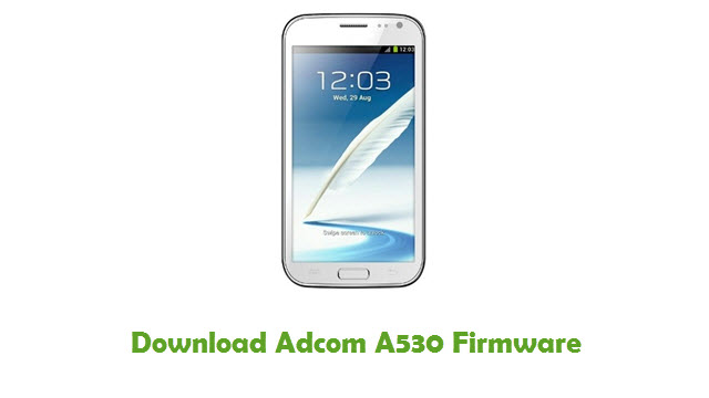Download Adcom A530 Firmware