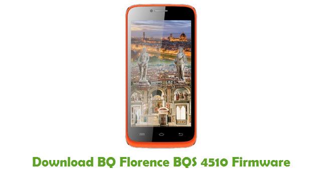 Download BQ Florence BQS 4510 Firmware