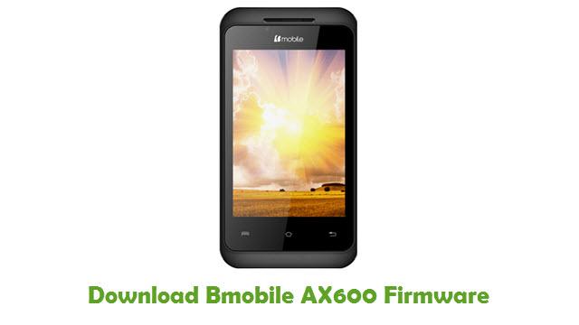 Download Bmobile AX600 Stock ROM
