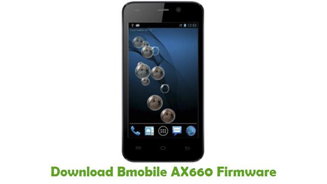 Bmobile AX660 Stock ROM