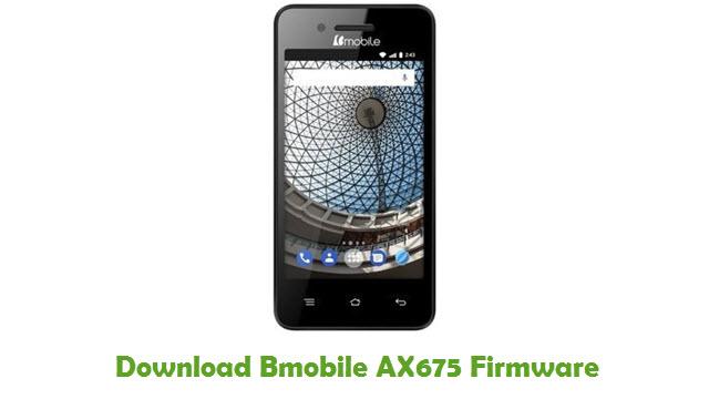 Bmobile AX675 Stock ROM