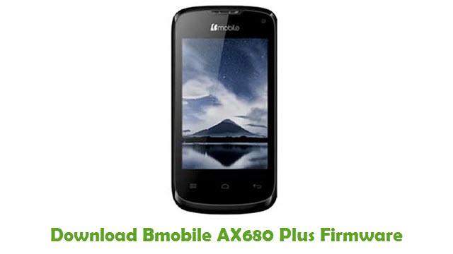 Bmobile AX680 Plus Stock ROM
