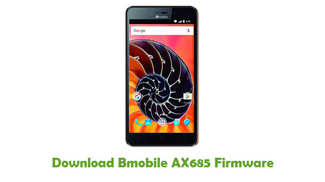 Download Bmobile AX685 Stock ROM
