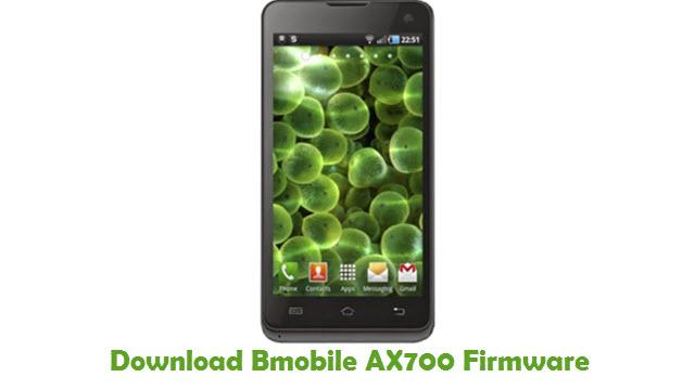Download Bmobile AX700 Stock ROM