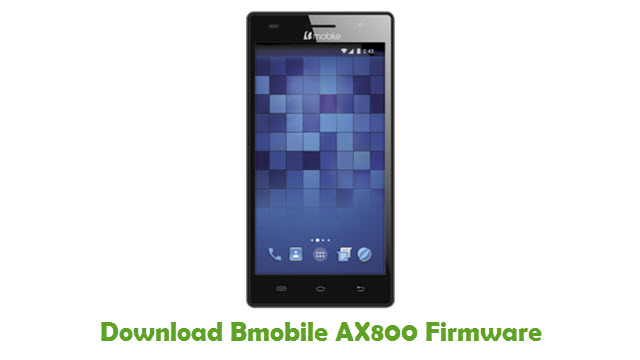 Download Bmobile AX800 Stock ROM