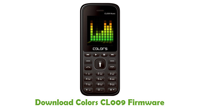 Download Colors CL009 Firmware