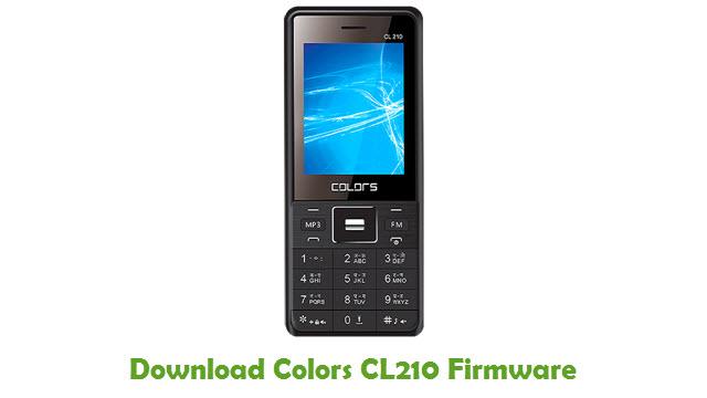 Download Colors CL210 USB Driver