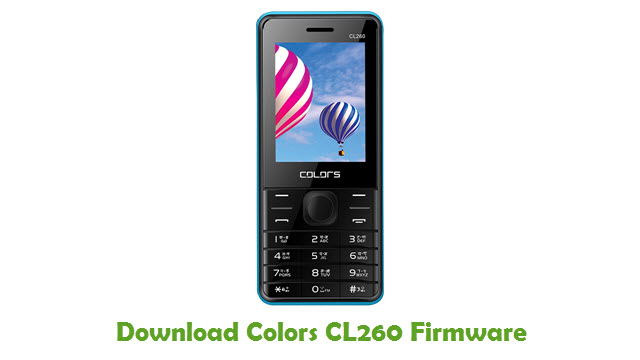 Download Colors CL260 Firmware