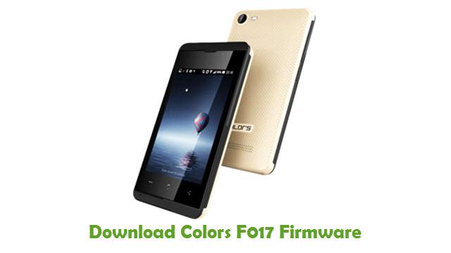Download Colors F017 USB Driver