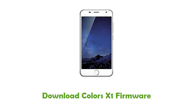 Colors X1 Stock ROM
