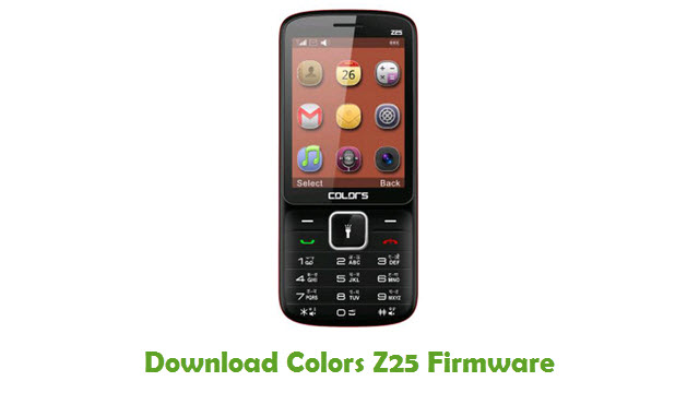 Colors Z25 Stock ROM