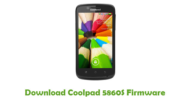 Coolpad 5860S Stock ROM