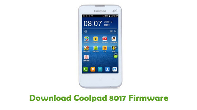 Download Coolpad 8017 Firmware