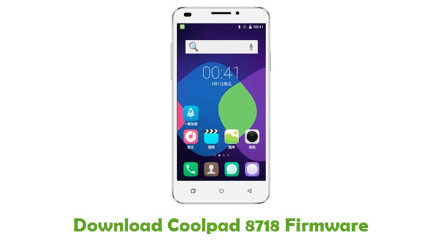 Download Coolpad 8718 Firmware