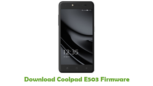 Download Coolpad E503 Firmware
