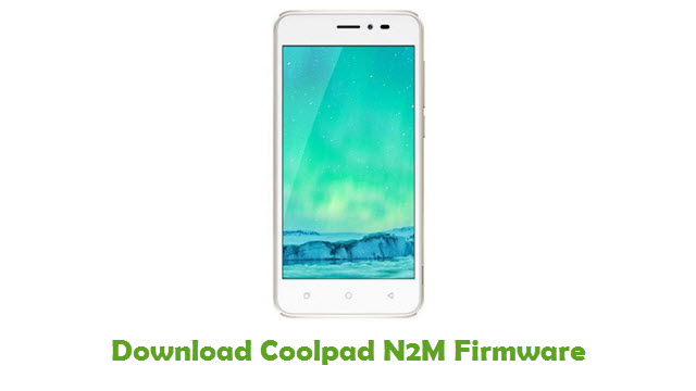Download Coolpad N2M Stock ROM