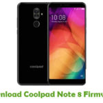 Coolpad Note 8 Firmware
