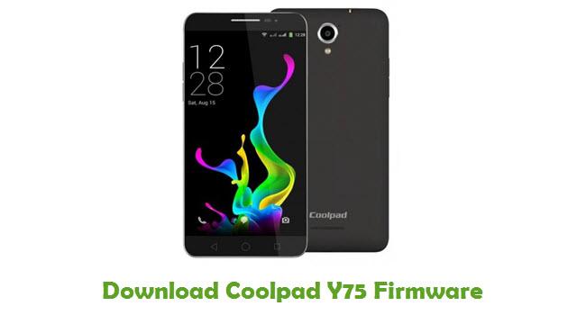 Download Coolpad Y75 Firmware