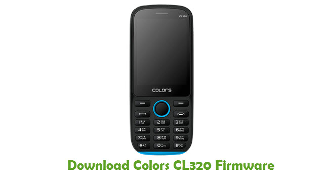 Download Downlodad Colors CL320 Firmware