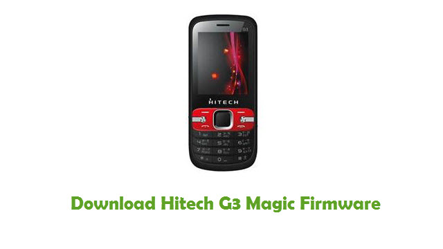 Hitech G3 Magic Stock ROM