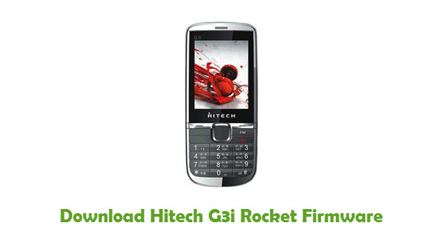 Download Hitech G3i Rocket Firmware