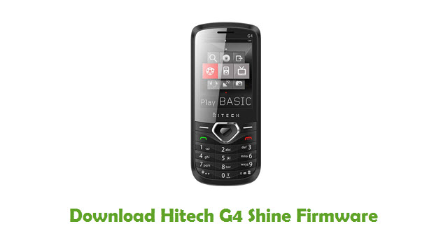 Download Hitech G4 Shine Firmware