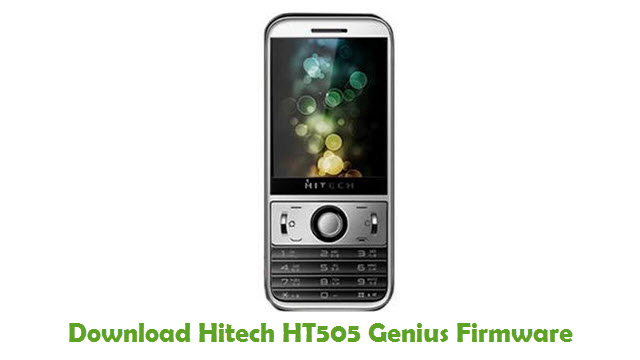 Download Hitech HT505 Genius Firmware