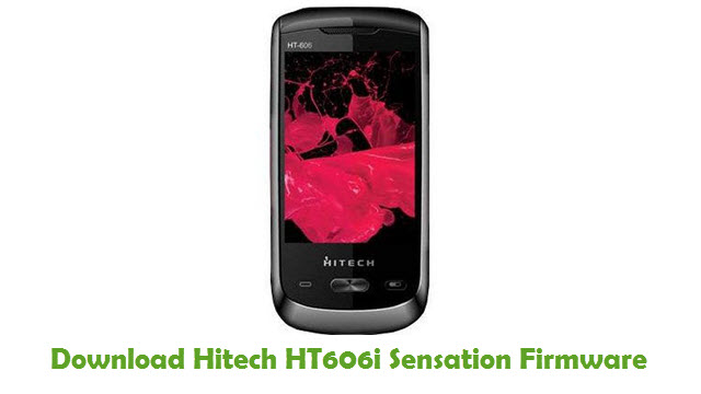 Download Hitech HT606i Sensation Firmware