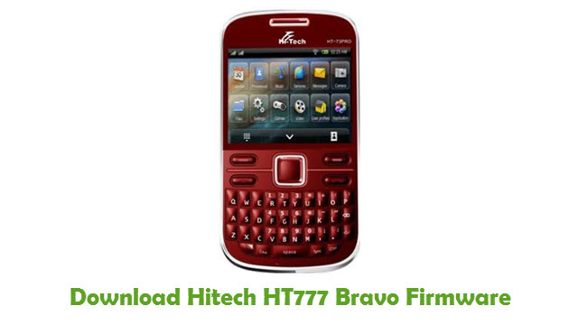 Download Hitech HT777 Bravo Firmware