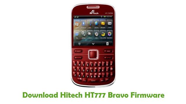 Hitech HT777 Bravo Stock ROM