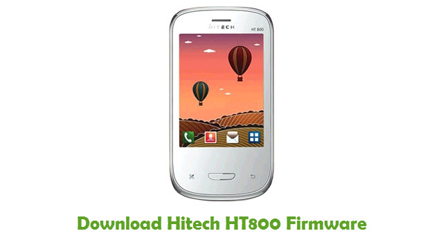 Download Hitech HT800 Firmware