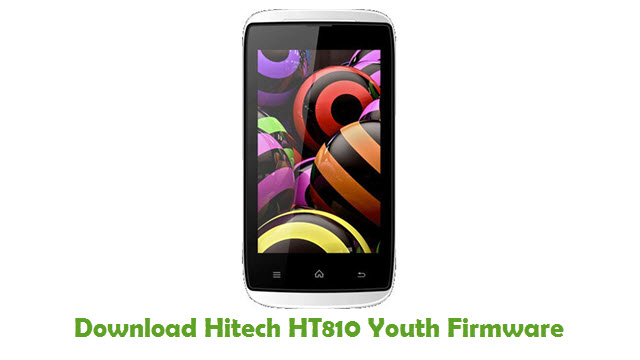 Download Hitech HT810 Youth Firmware
