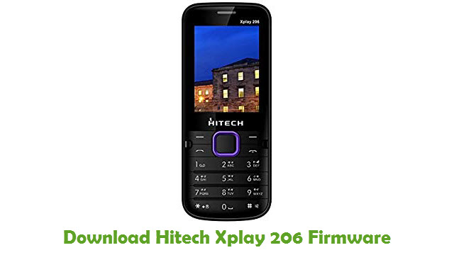 Hitech Xplay 206 Stock ROM