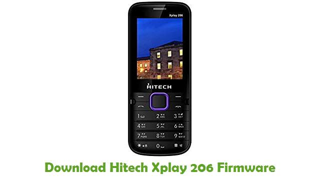 Download Hitech Xplay 206 Stock ROM