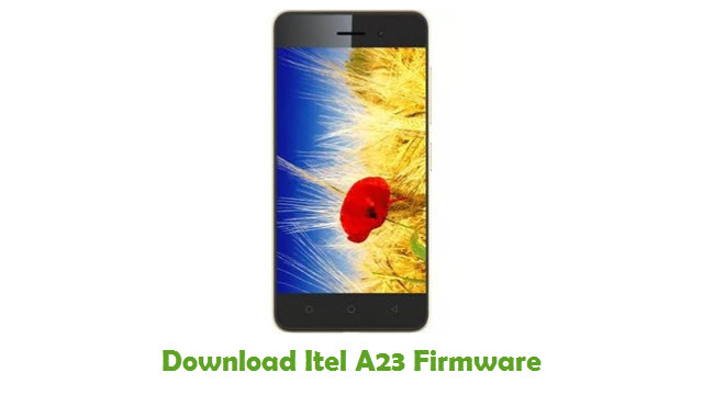 Download Itel A23 Firmware