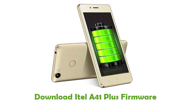 Download Itel A41 Plus Firmware